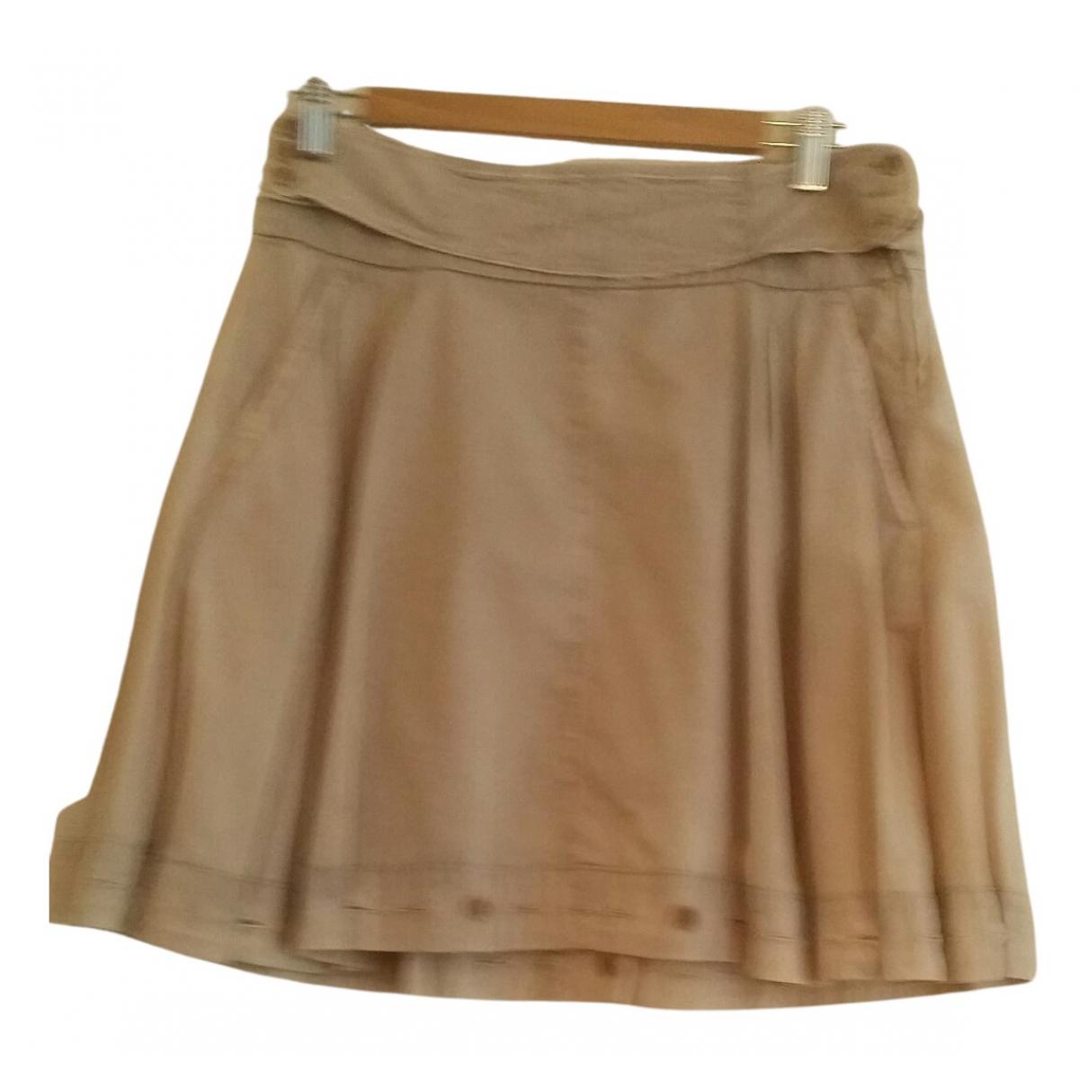 Prada - Jupe   pour femme en coton - beige