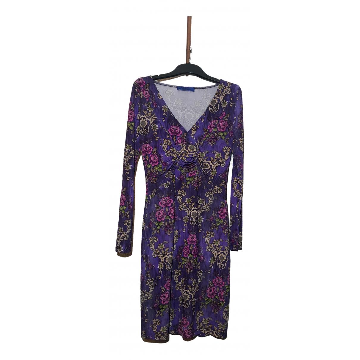 Blumarine - Robe   pour femme en soie - violet