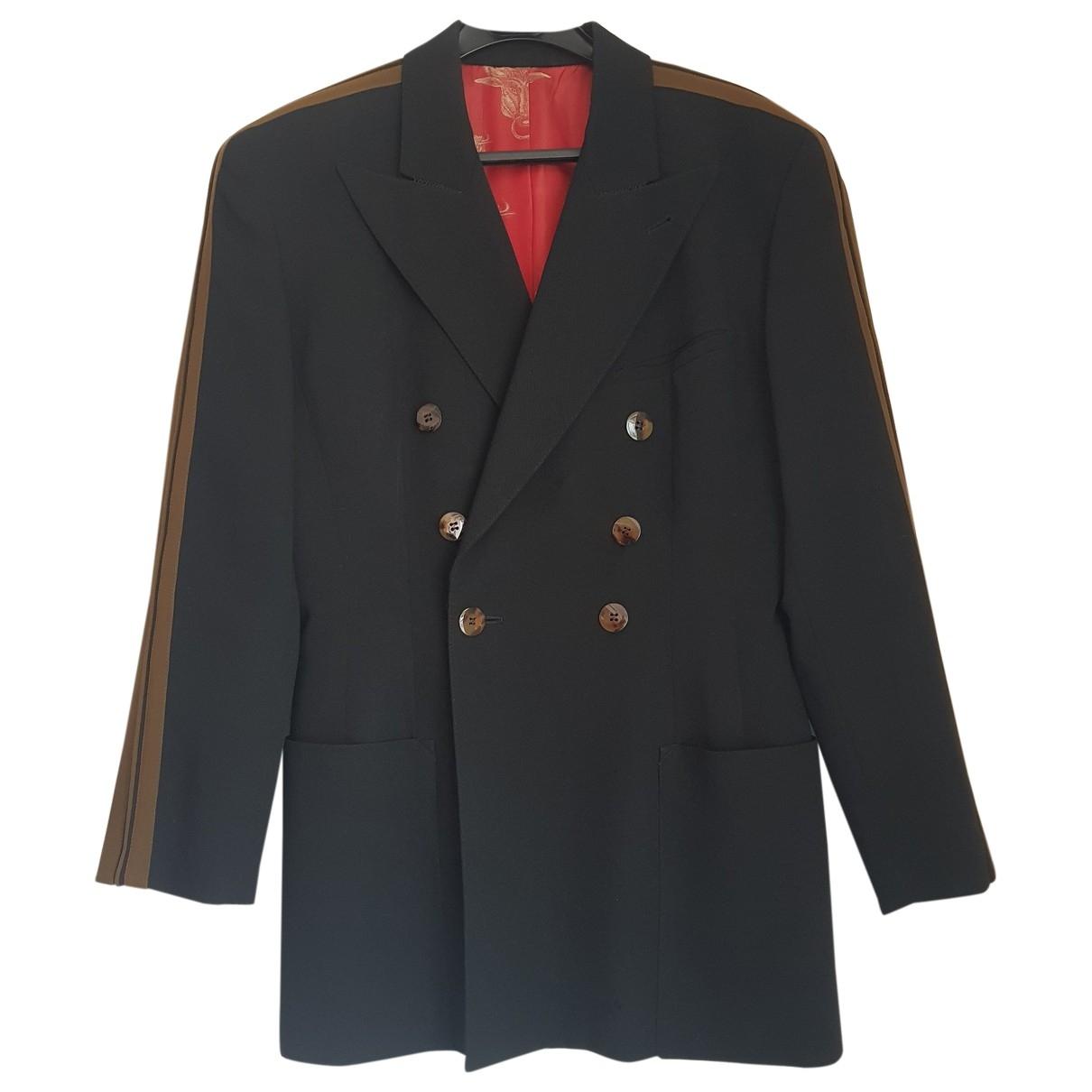 Jean Paul Gaultier \N Black Wool jacket for Women 40 FR