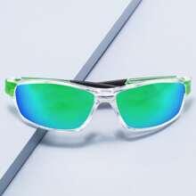 Acrylic Frame Polarized Sunglasses