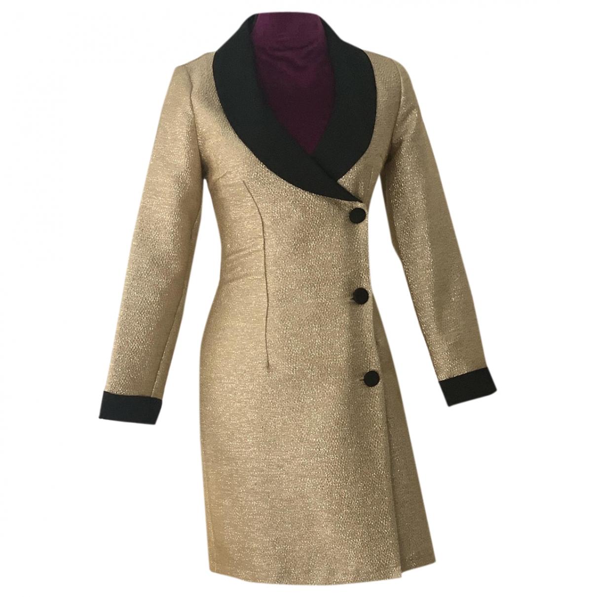 - Robe   pour femme - dore