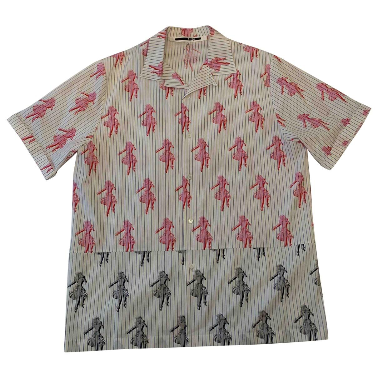 Mcq - Chemises   pour homme en coton - multicolore