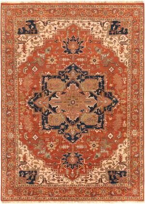 Zeus ZEU-7805 12' x 15' Rectangle Traditional Rugs in
