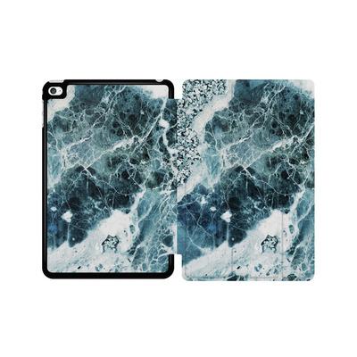 Apple iPad mini 4 Tablet Smart Case - Blue Sea Marble von Emanuela Carratoni