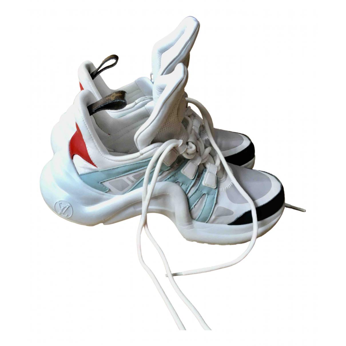 Louis Vuitton - Baskets Archlight pour femme - blanc