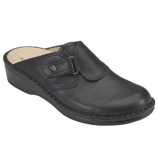 Finn Comfort Orb Black Leather 36