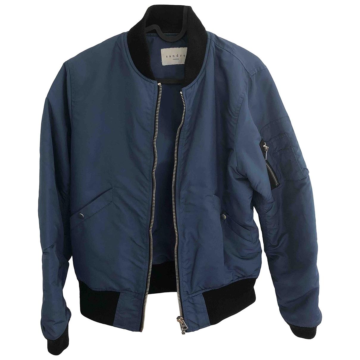 Sandro \N Blue jacket  for Men XS International
