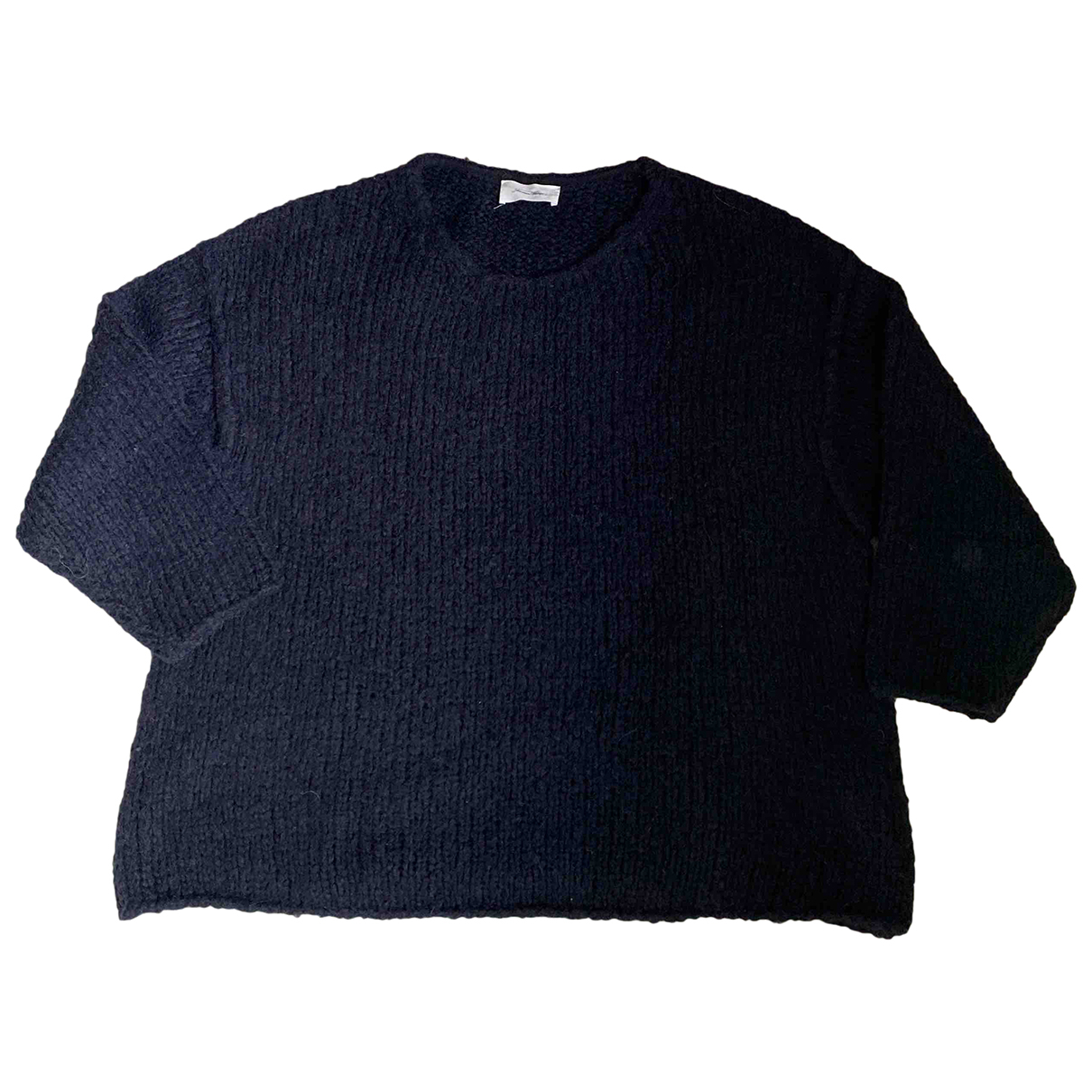 American Vintage - Pull   pour femme en laine - noir