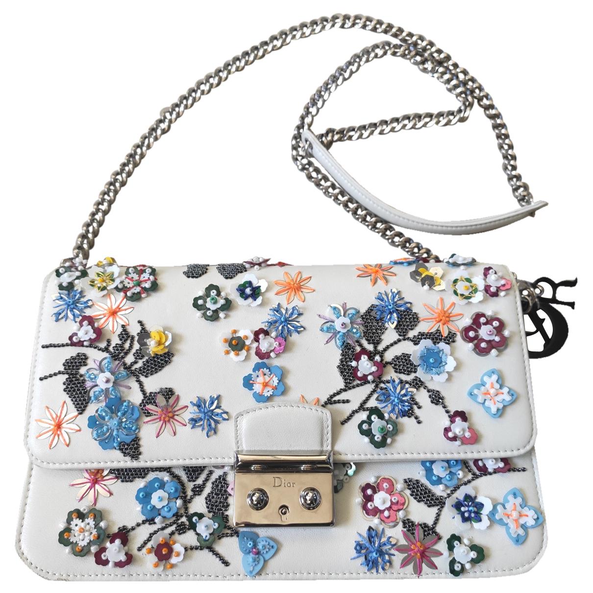 Dior - Sac a main Miss Dior pour femme en cuir - multicolore