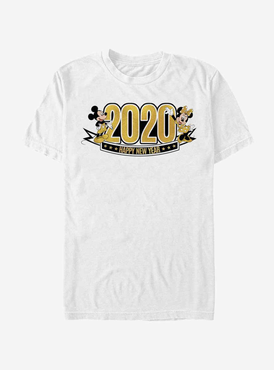 Disney Mickey Mouse And Minnie 2020 T-Shirt