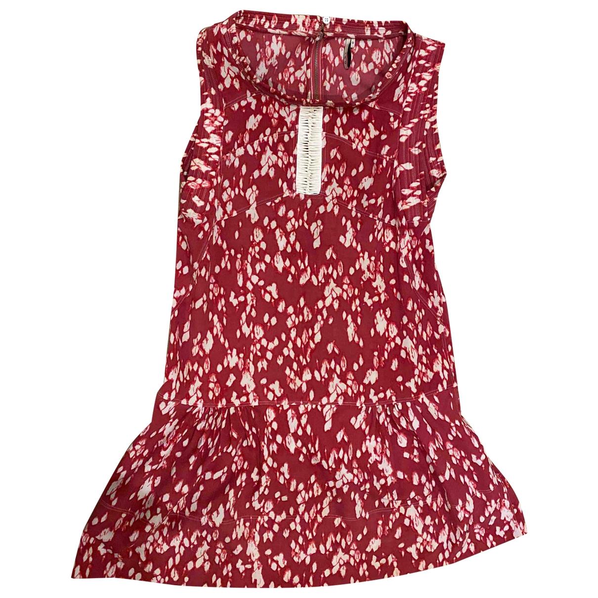 Iro \N Kleid in  Rot Polyester
