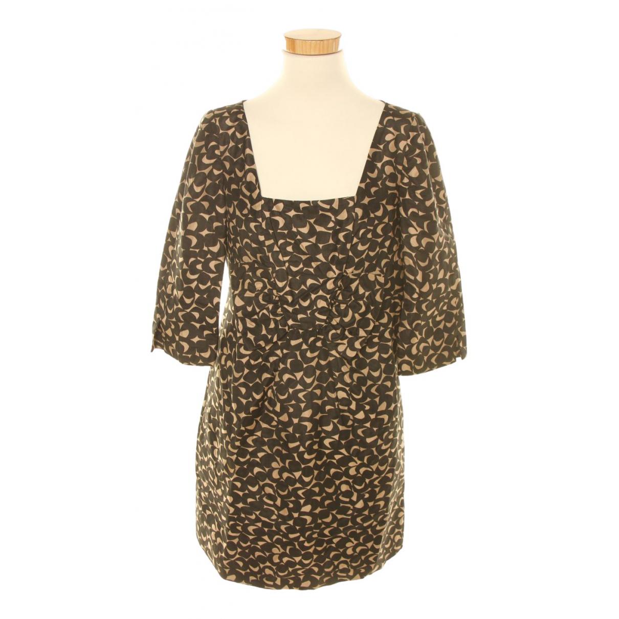 Hoss Intropia N Multicolour Silk dress for Women 42 FR