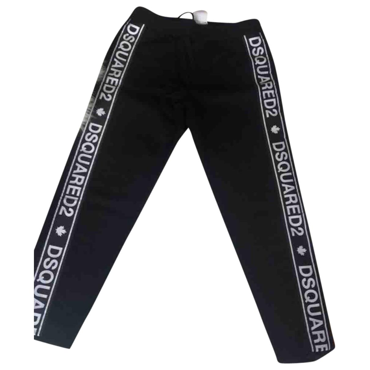 Dsquared2 - Pantalon   pour femme en coton - noir