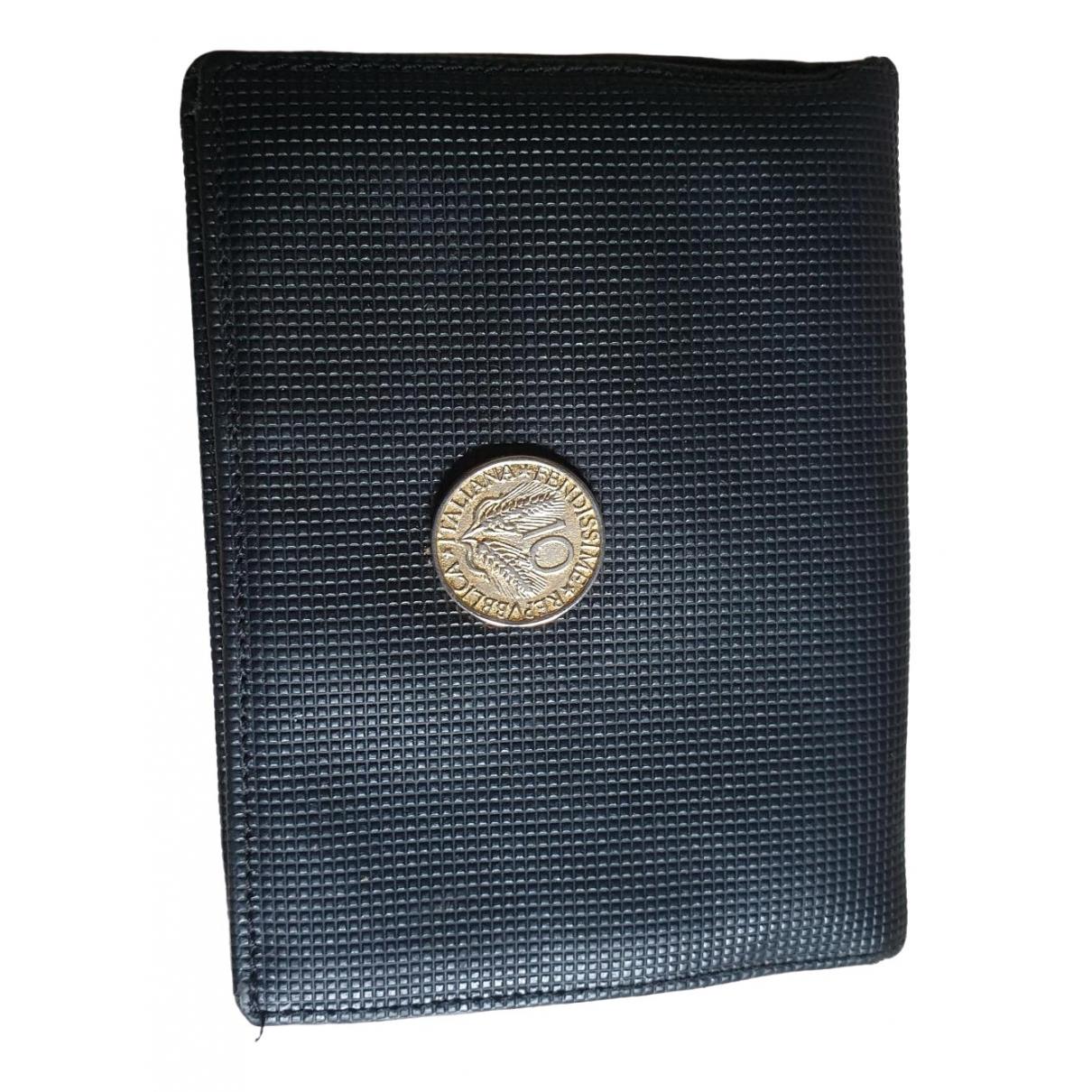 Fendissime - Petite maroquinerie   pour homme en cuir - noir