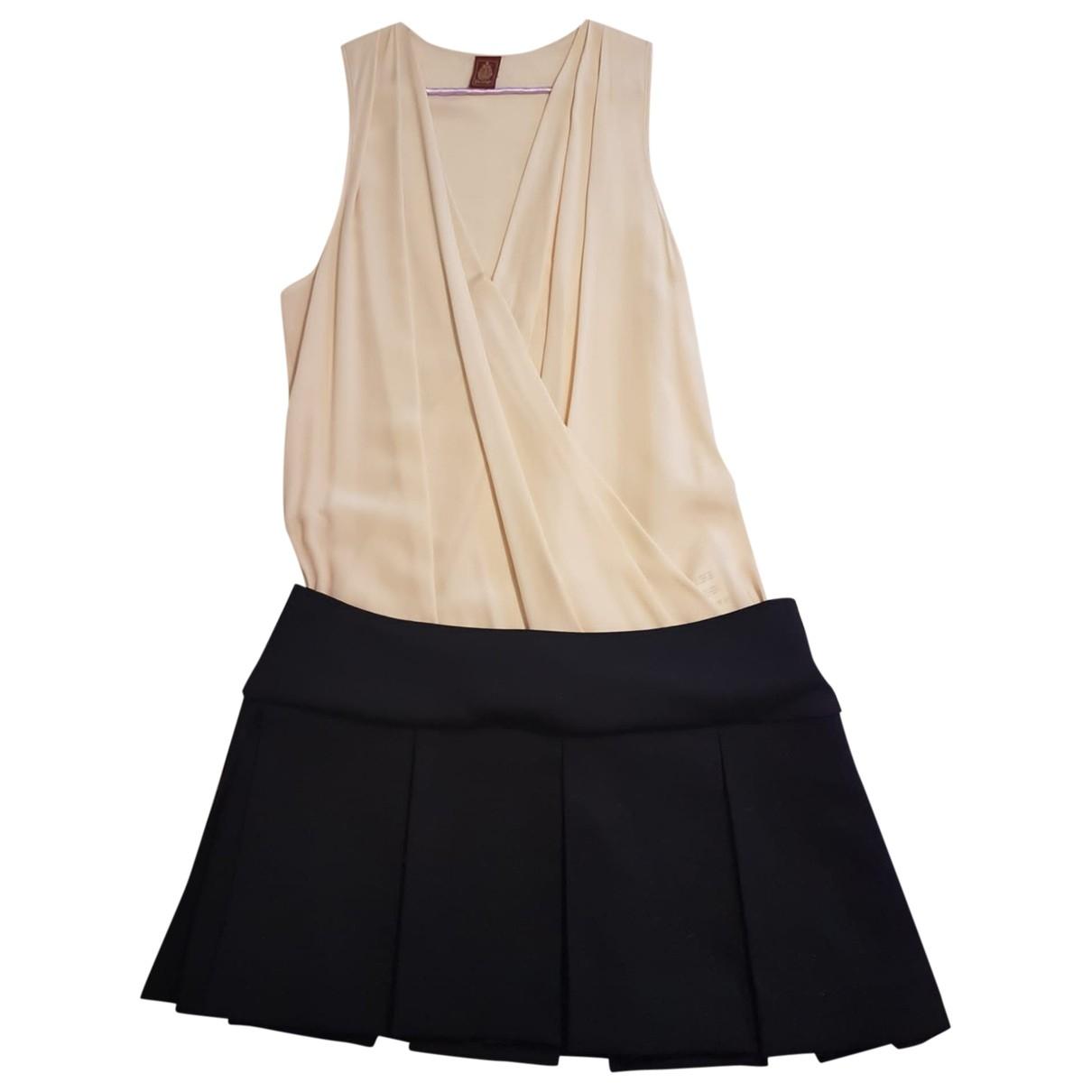 Dondup - Robe   pour femme en soie - multicolore
