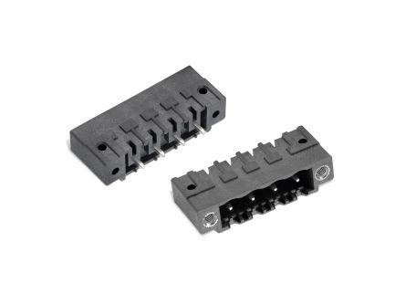 Wurth Elektronik , WR-TBL, 7015B, 7 Way, 1 Row, Vertical PCB Header (150)