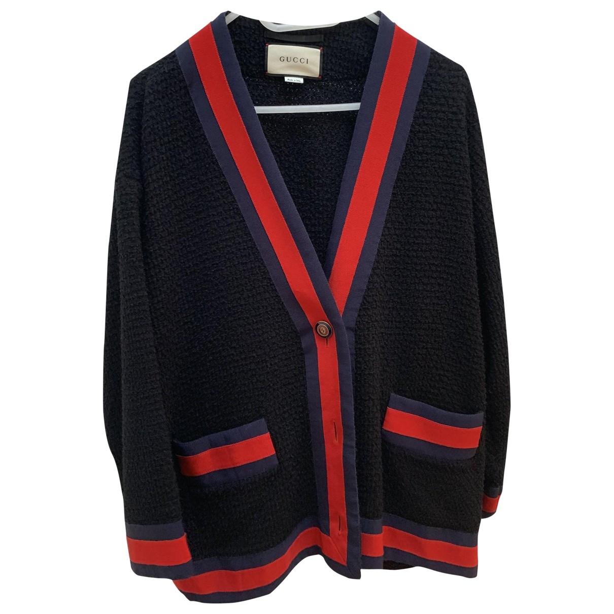 Gucci \N Pullover in  Blau Baumwolle
