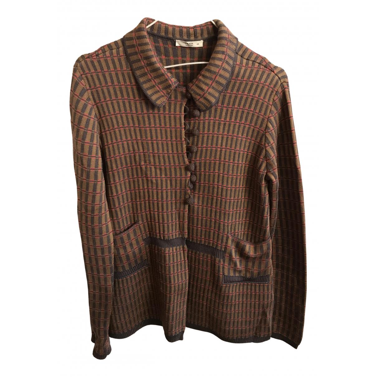 Prada N Multicolour Silk jacket for Women 44 IT