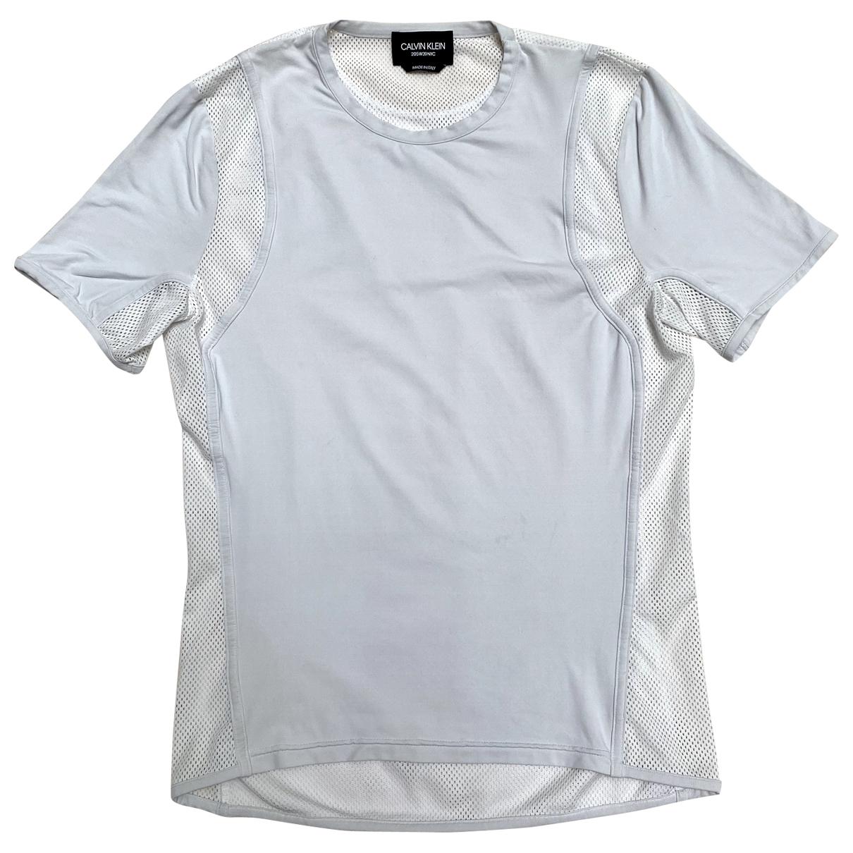 Calvin Klein 205w39nyc - Tee shirts   pour homme en lycra - blanc