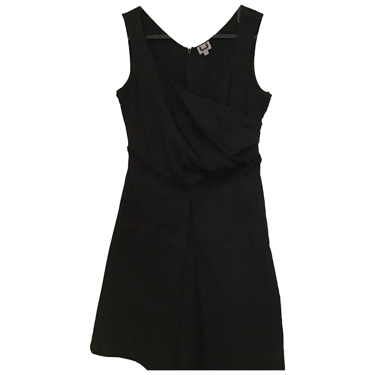 Adolfo Dominguez - Robe   pour femme en coton - noir