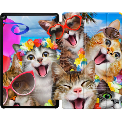Amazon Fire HD 10 (2018) Tablet Smart Case - Selfie Luau von Howard Robinson