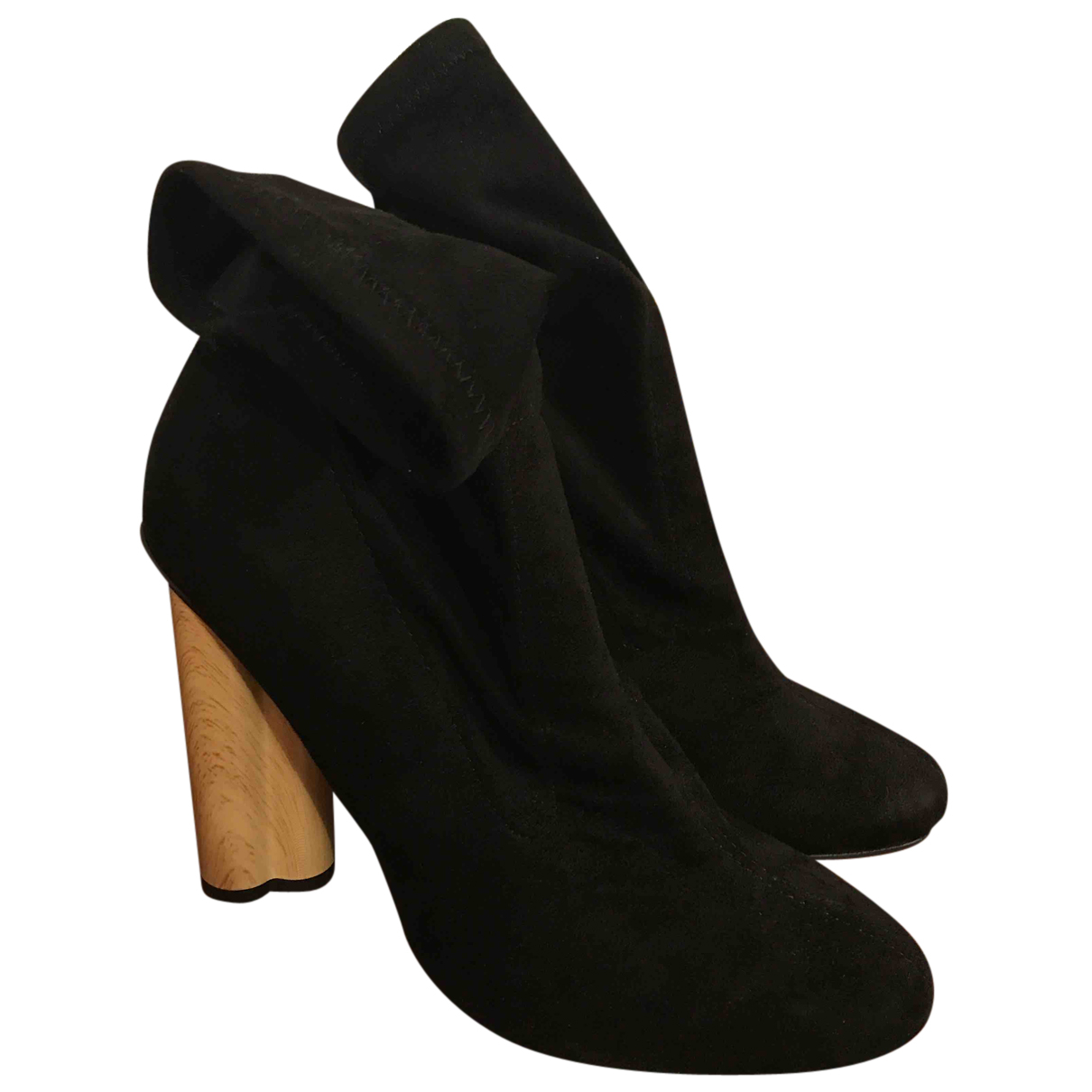 Asos N Black Suede Ankle boots for Women 5 UK