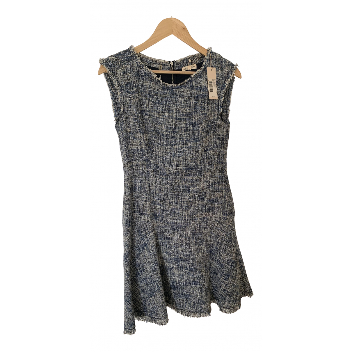 Rebecca Taylor - Robe   pour femme en tweed - multicolore