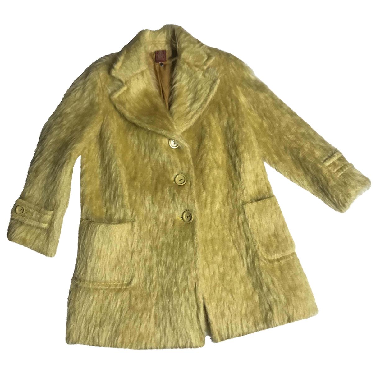 Dondup - Blousons.Manteaux   pour enfant en coton - jaune