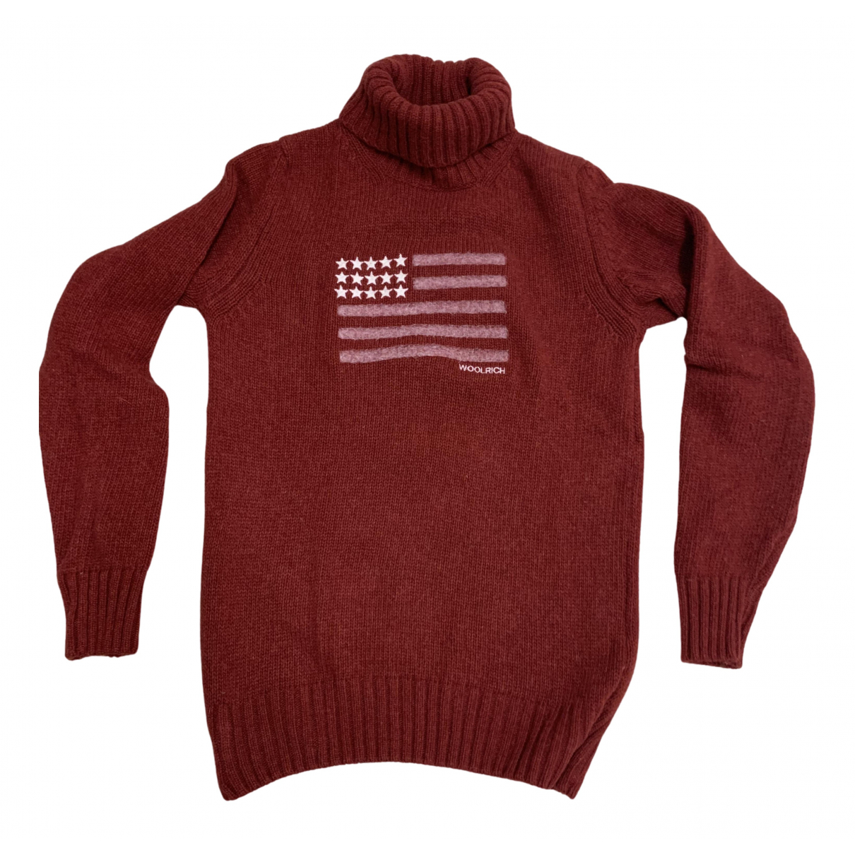 Woolrich \N Pullover in  Rot Wolle
