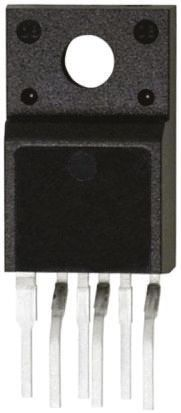 ON Semiconductor FSGM0565RLDTU, 1-Channel Intelligent Power Switch, Off Line Switcher, 2.2A, 26V, 70 6-Pin, TO-220F (4)