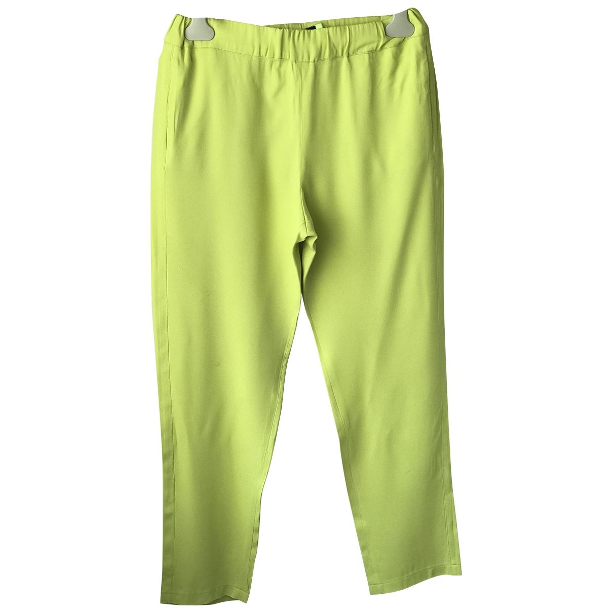 Msgm - Pantalon   pour femme - jaune