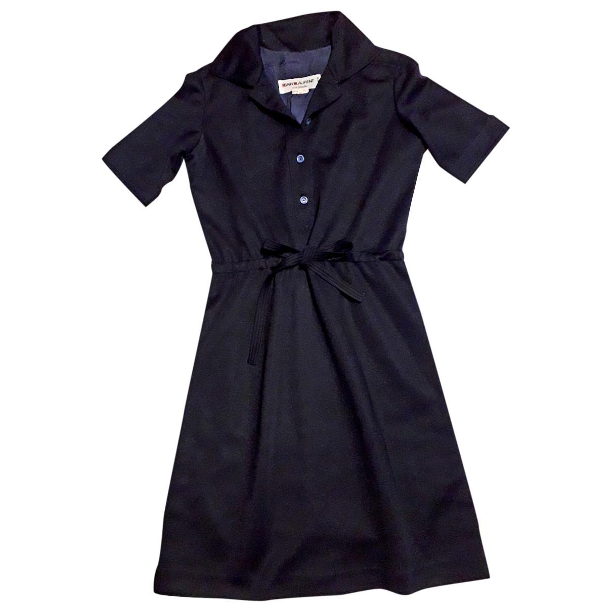 Vestido midi Yves Saint Laurent