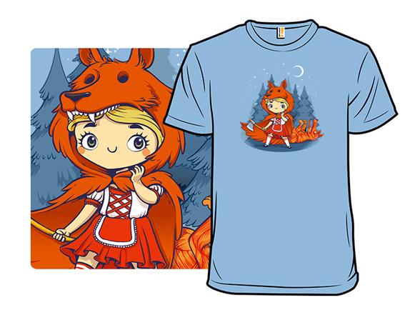 Red Hood Wolf T Shirt
