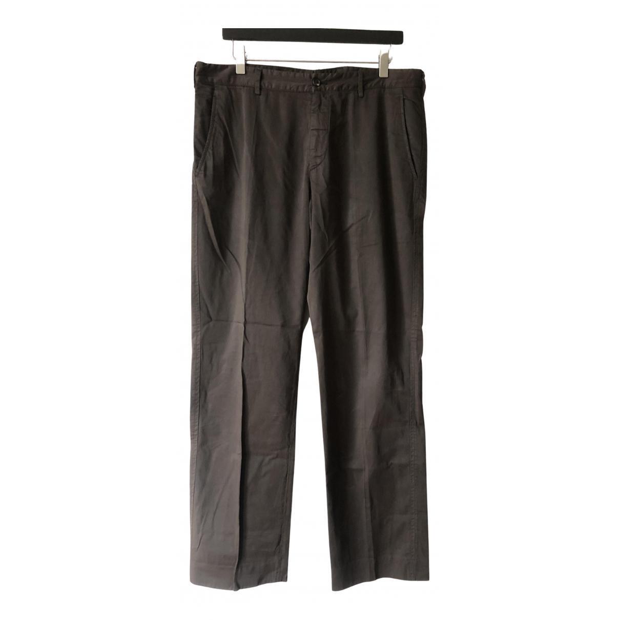 Prada - Pantalon   pour homme en coton - marron