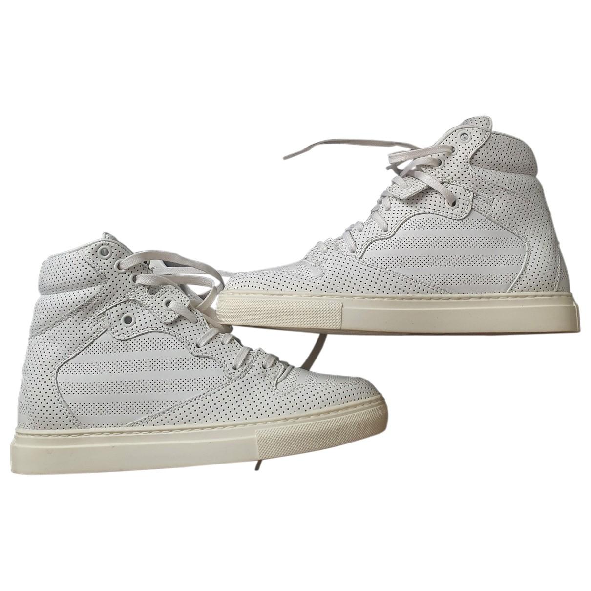 Balenciaga N White Leather Trainers for Women 36 EU