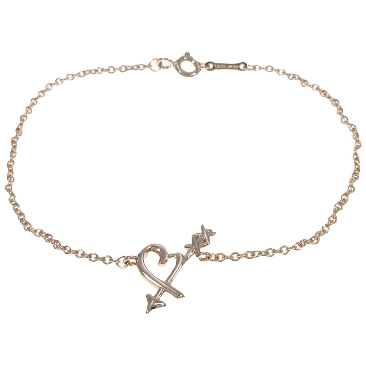 Tiffany & Co - Bracelet   pour femme en or rose - dore