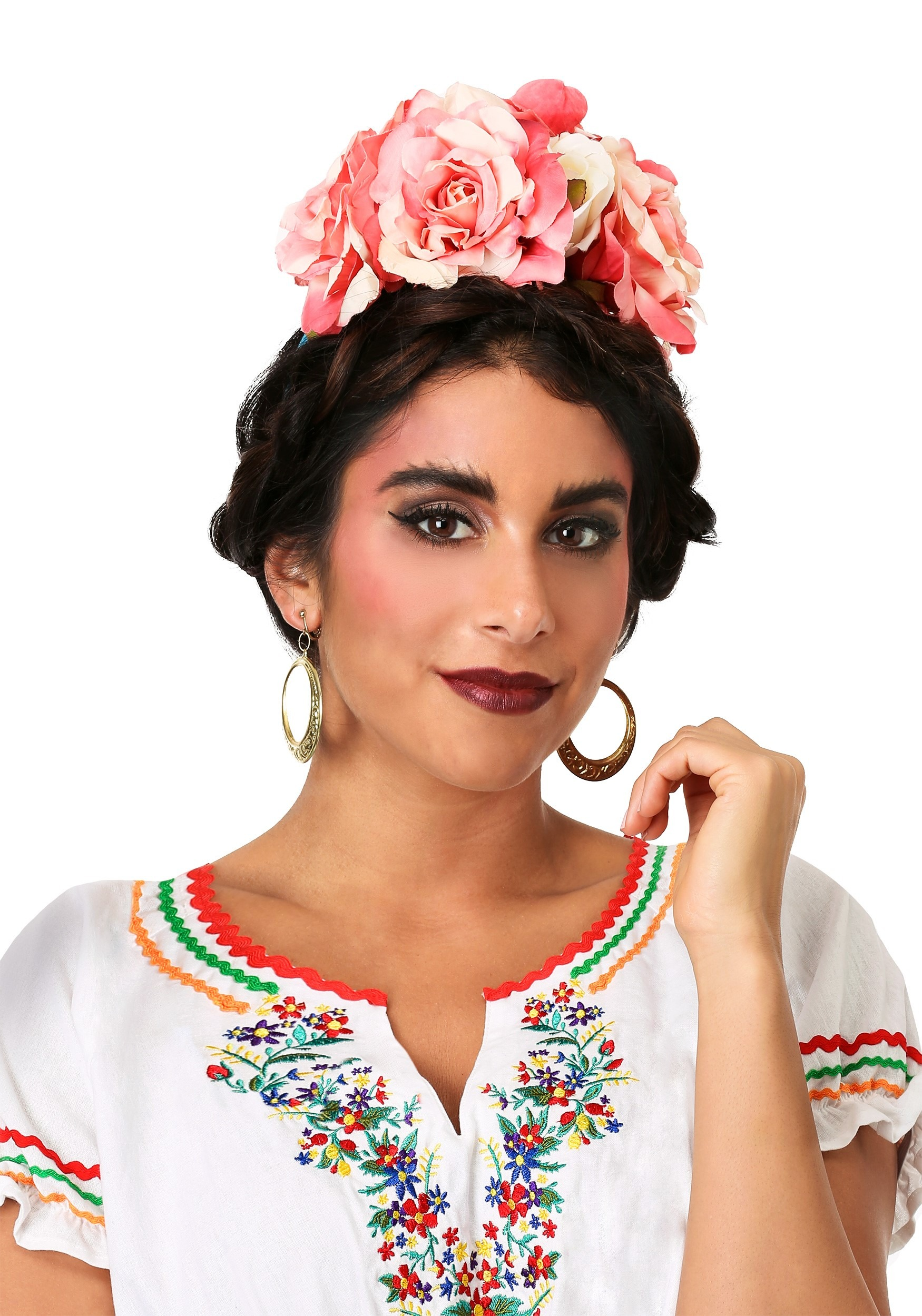 Floral Frida Kahlo Headband