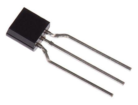 STMicroelectronics , P0102DA 5AL3, Thyristor, 400V 0.5A, 0.2mA 3-Pin, TO-92 (25)
