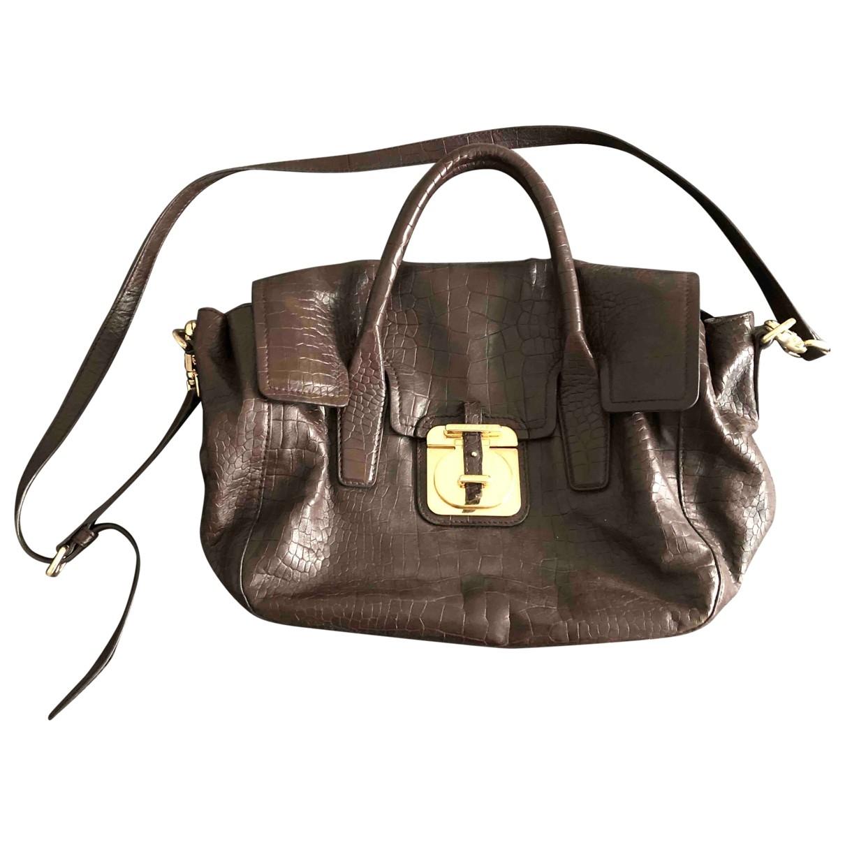 Hugo Boss \N Brown Leather handbag for Women \N