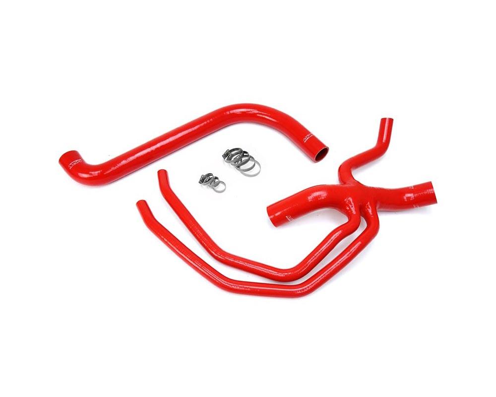 HPS Red Reinforced Silicone Radiator Hose Kit Coolant for Ford 99-03 F150 Lightning 5.4L V8