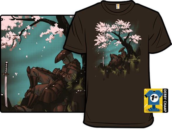 Sakura Samurai T Shirt
