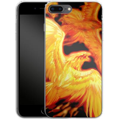 Apple iPhone 7 Plus Silikon Handyhuelle - Ruth Thompson - Phoenix Dawn von TATE and CO