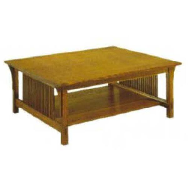 Woodworking Project Paper Plan to Build Mission Style Coffee Table Plan, AFD234