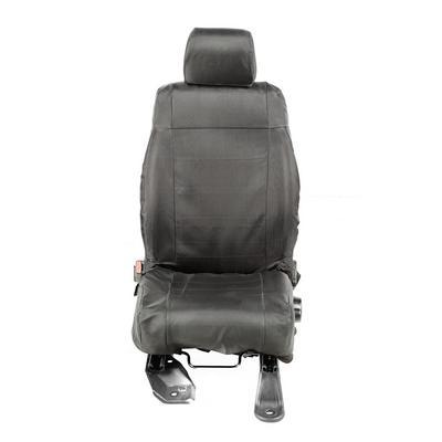 Rugged Ridge Ballistic Front Seat Covers (Black) - 13216.12