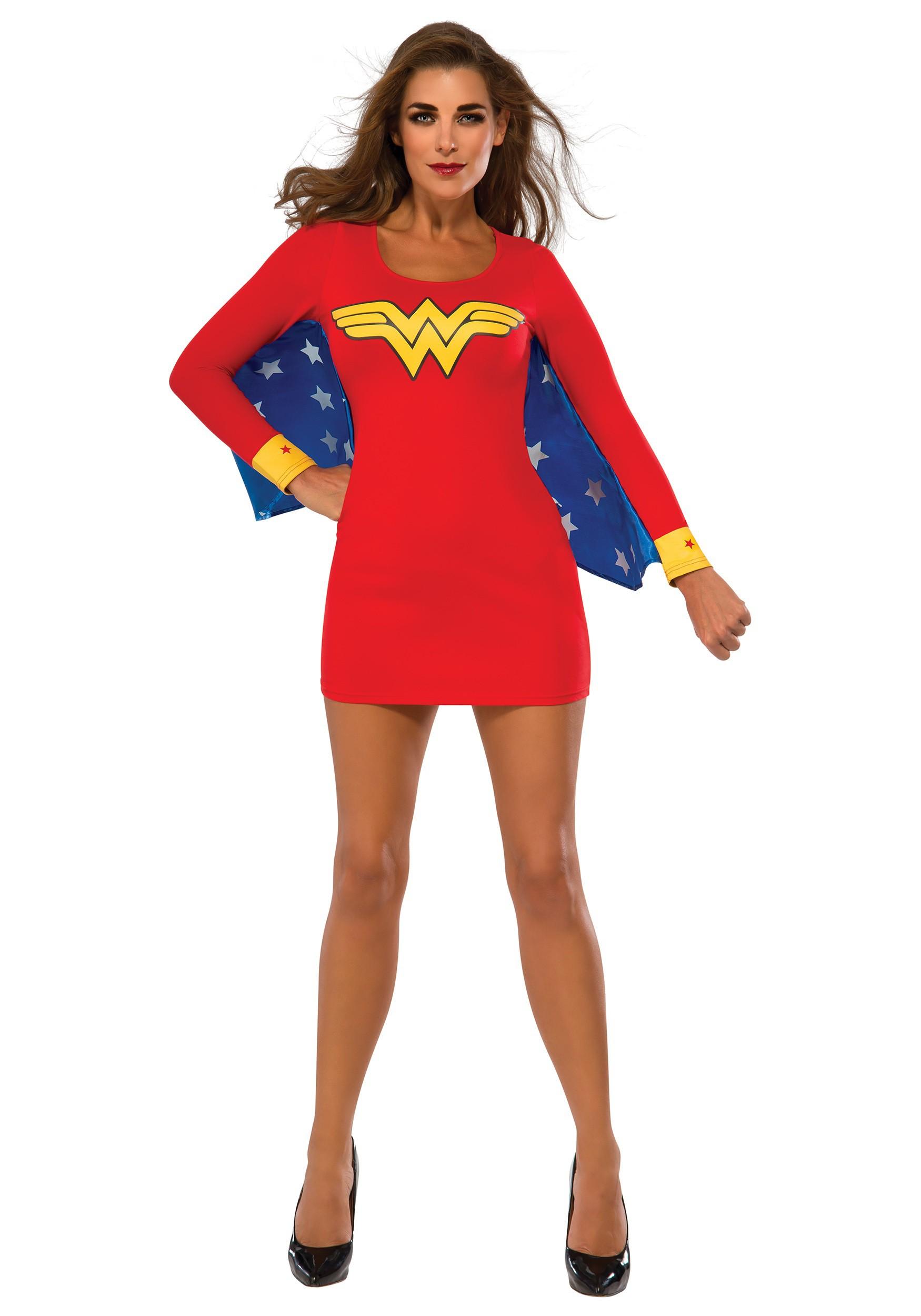 Wonder Woman Wings Women's Dress Costume