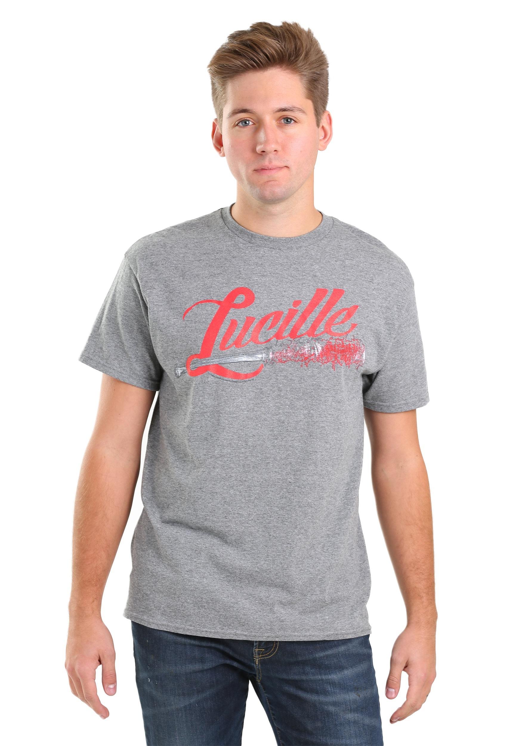 Lucille Baseball Bat T-Shirt for Men