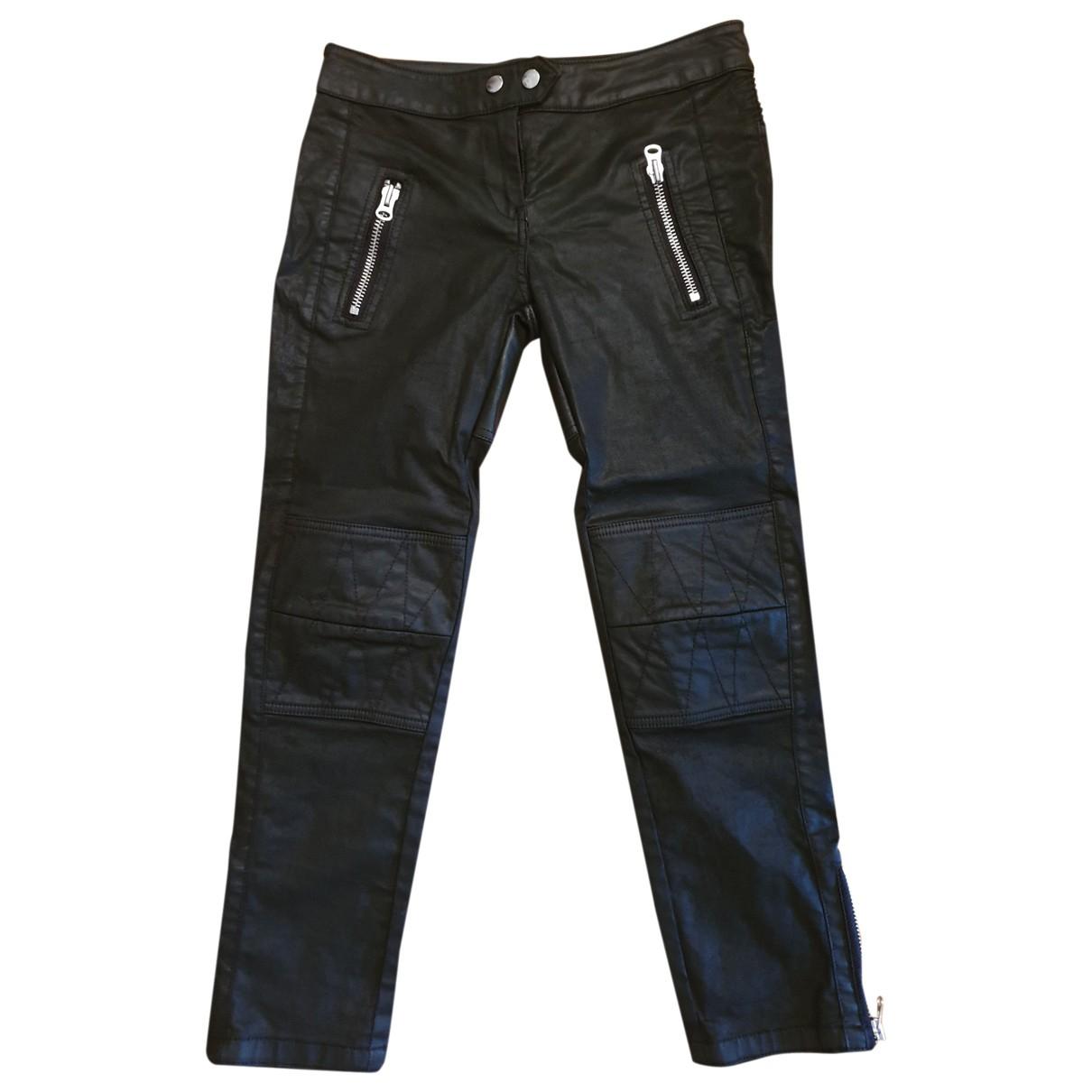 Isabel Marant \N Black Cloth Trousers for Women 36 FR