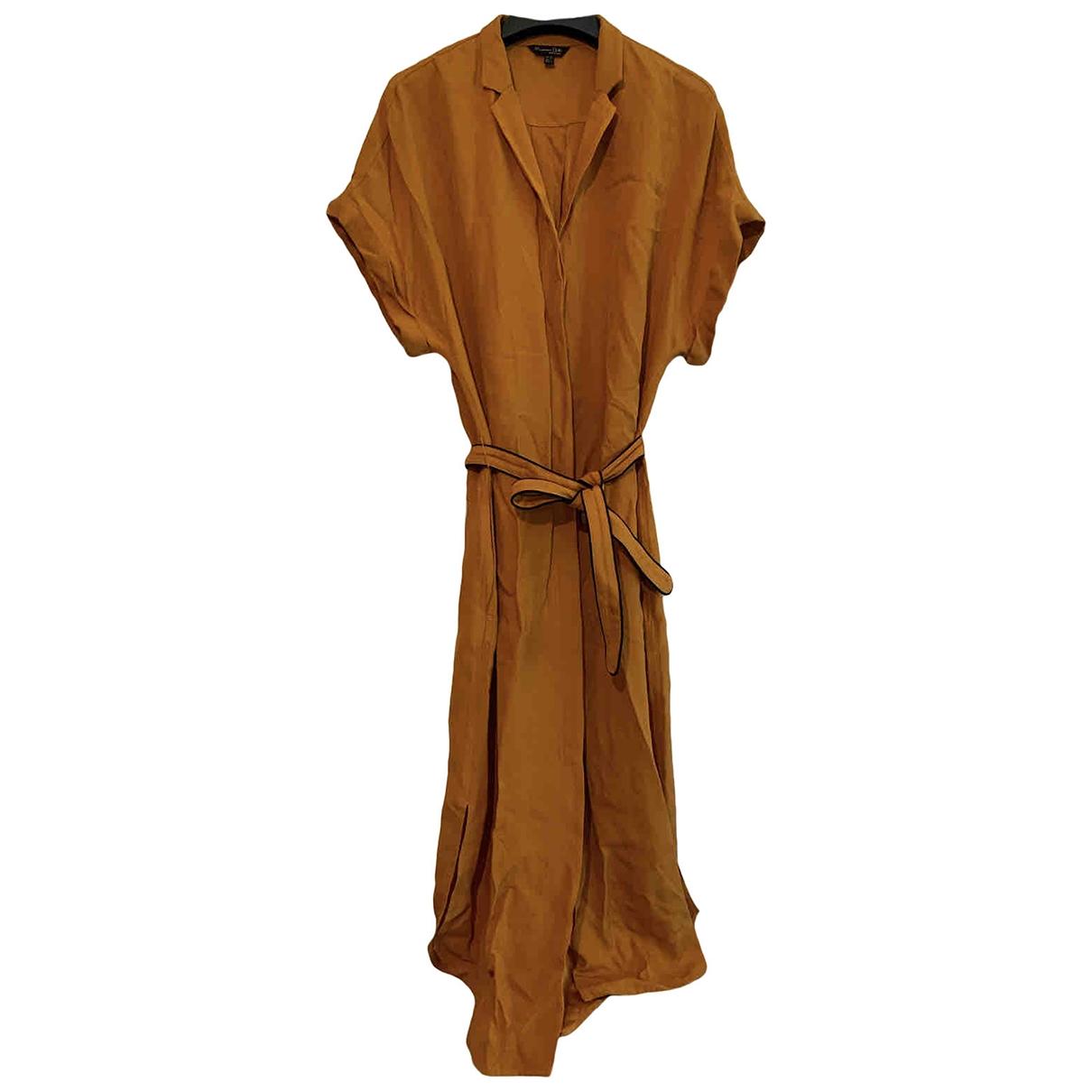 Vestido midi Massimo Dutti