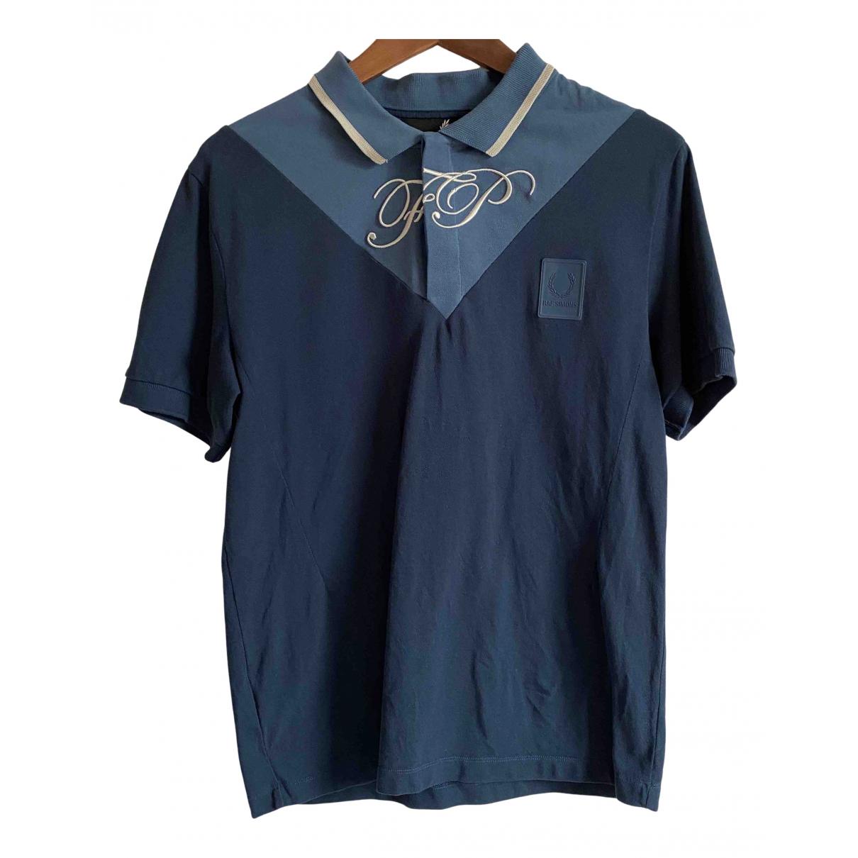 Raf Simons \N Poloshirts in  Blau Baumwolle