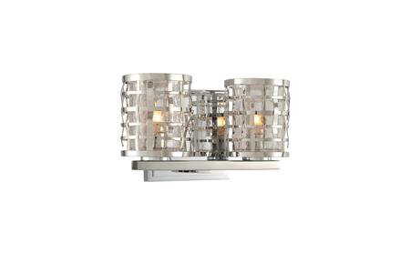 Bridgeport 308732SL 2-Light Bath in Stainless